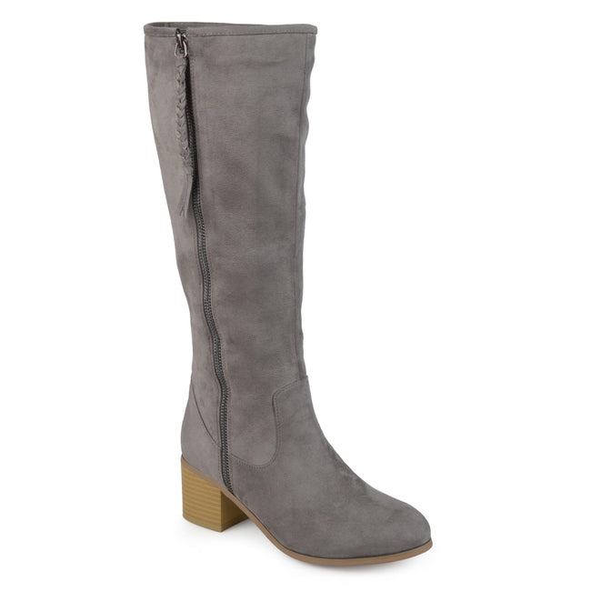SANORA WIDE CALF Journee Collection Grey 6