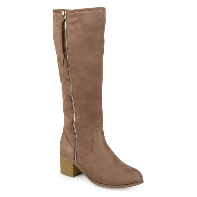 SANORA WIDE CALF Journee Collection Taupe 6
