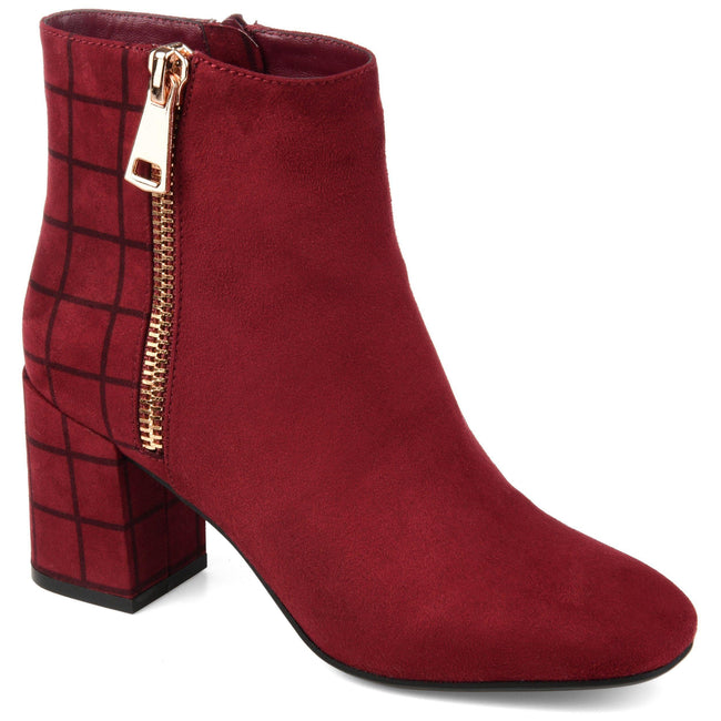 SARAH Shoes Journee Collection Burgundy 5.5