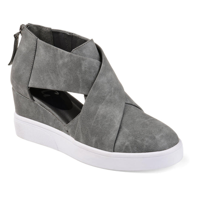SEENA Shoes Journee Collection Grey 5.5