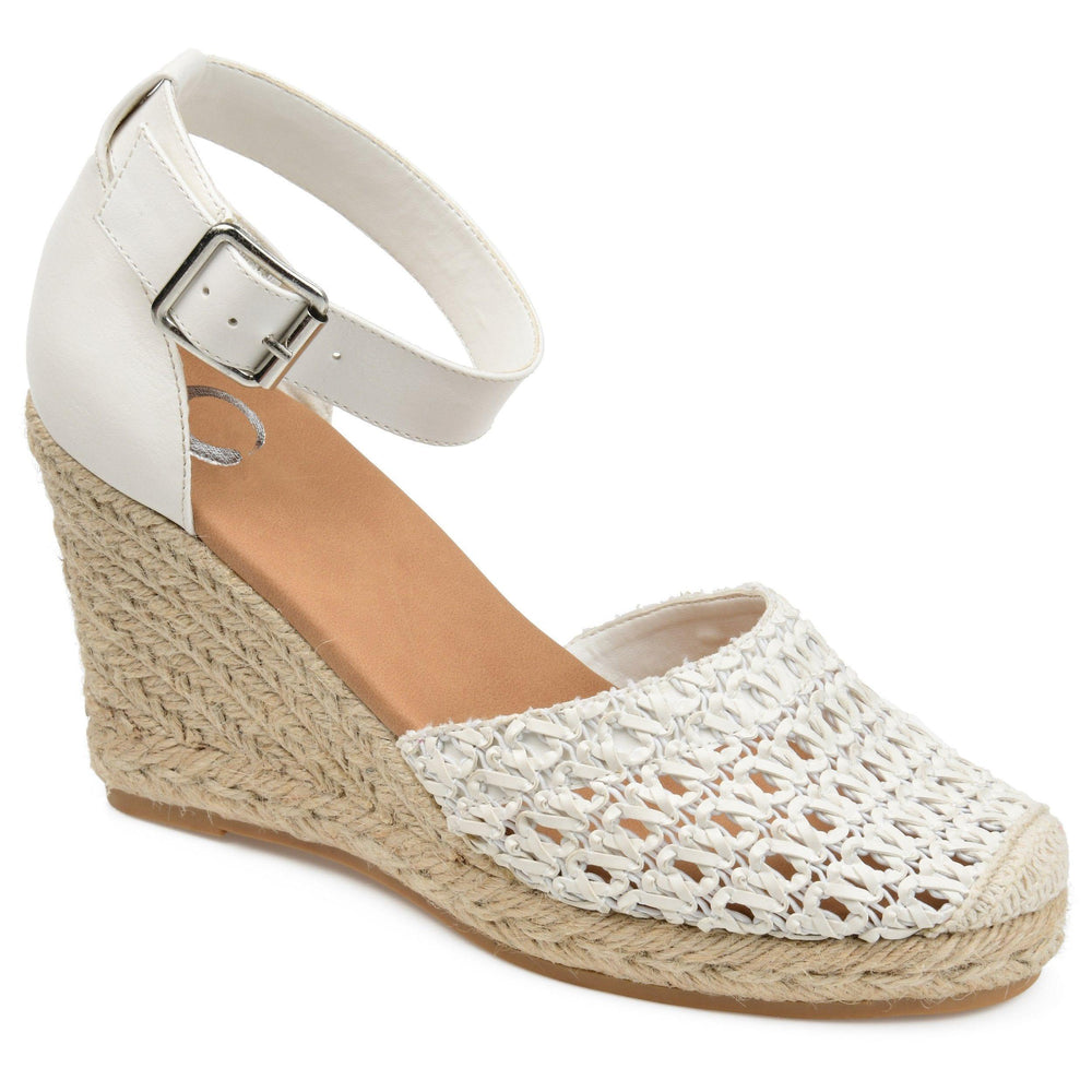 SIERRA Shoes Journee Collection White 6