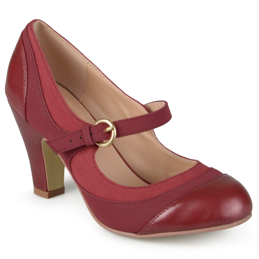 SIRI Shoes Journee Collection Wine 6