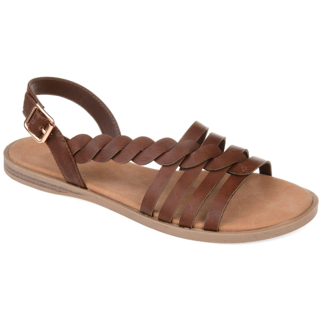 SOLAY Shoes Journee Collection Brown 5.5