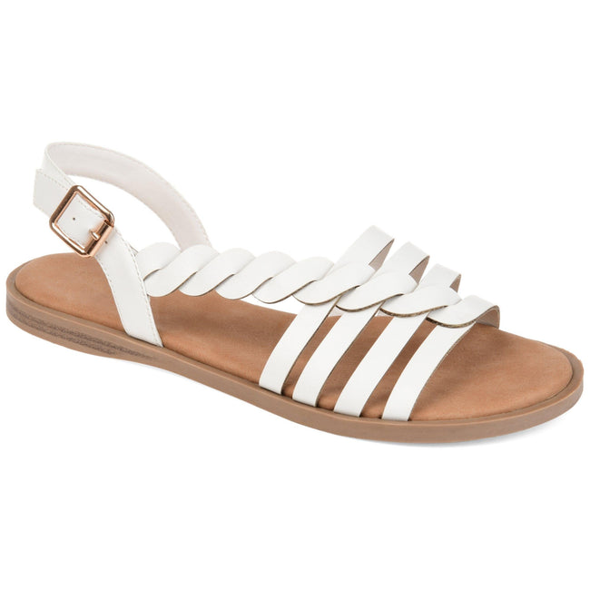 SOLAY Shoes Journee Collection White 5.5