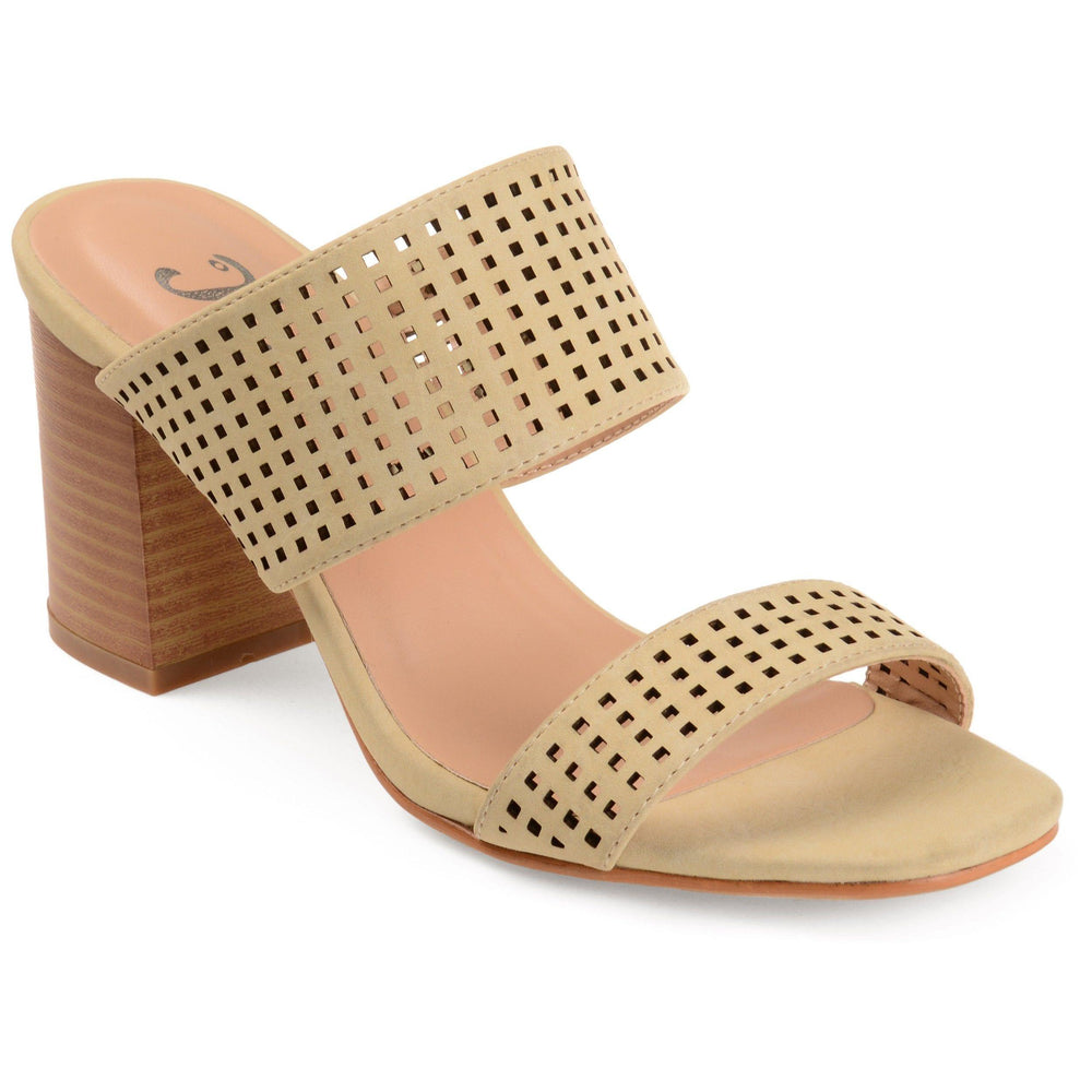 SONYA Shoes Journee Collection Nude 5.5