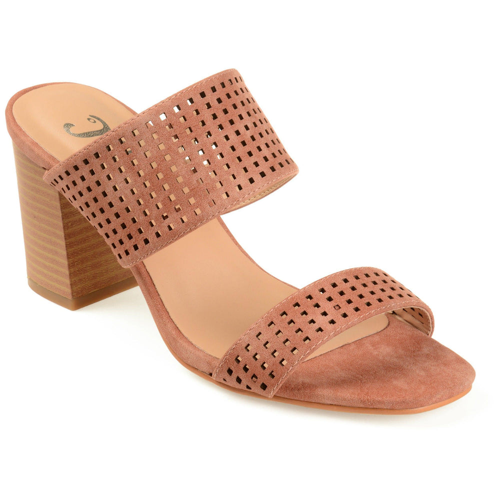 SONYA Shoes Journee Collection Rust 5.5