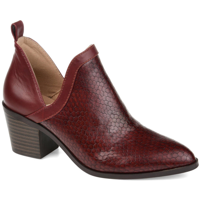 TERRI Shoes Journee Collection Wine 5.5