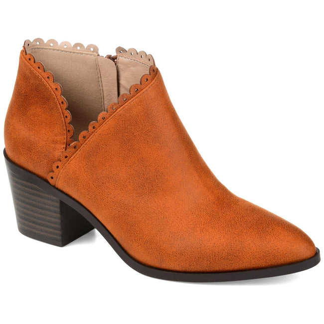 TESSA Shoes Journee Collection Rust 5.5