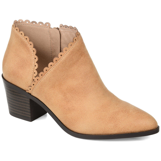 TESSA Shoes Journee Collection Tan 5.5