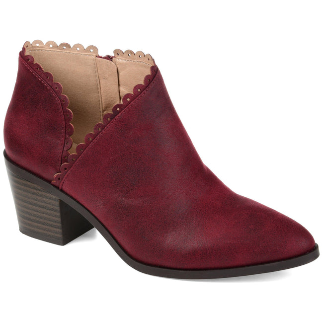 TESSA Shoes Journee Collection Wine 5.5