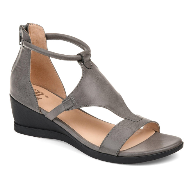 TRAYLE Shoes Journee Collection Grey 5.5