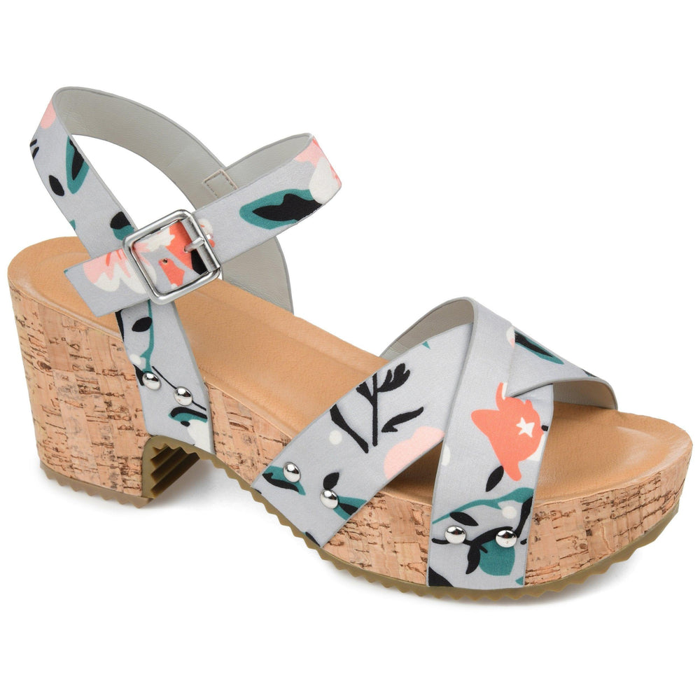 VALENTINA Shoes Journee Collection Floral 7