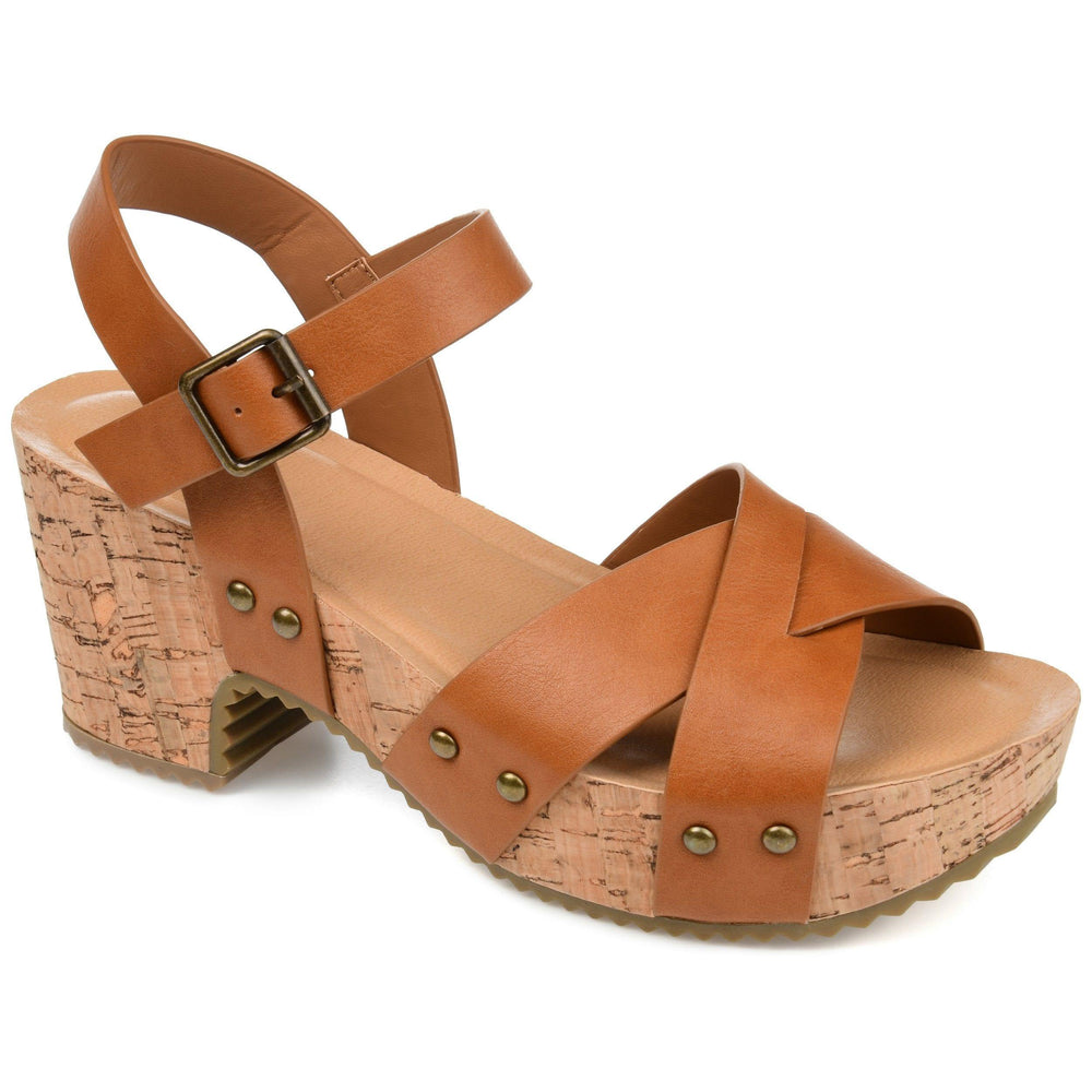 VALENTINA Shoes Journee Collection Tan 9