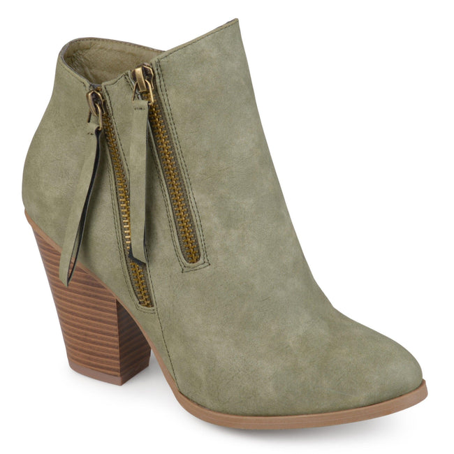 VALLY Shoes Journee Collection Olive 5.5