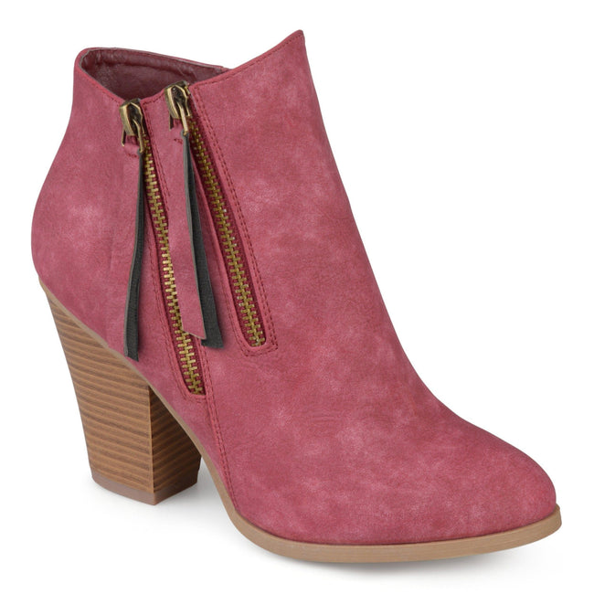 VALLY Shoes Journee Collection Wine 5.5