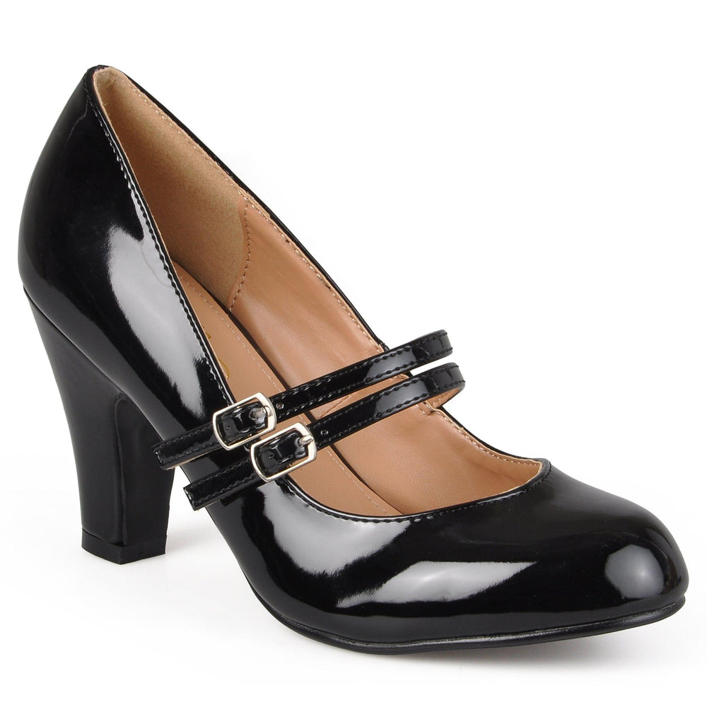 WENDY-09-WIDE WIDTH Shoes Journee Collection Black Patent 7