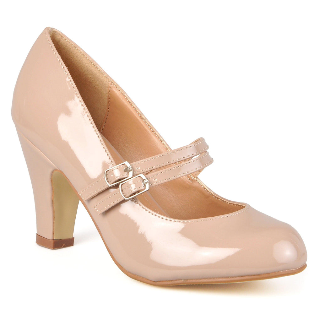 WENDY-09-WIDE WIDTH Shoes Journee Collection Taupe Patent 7
