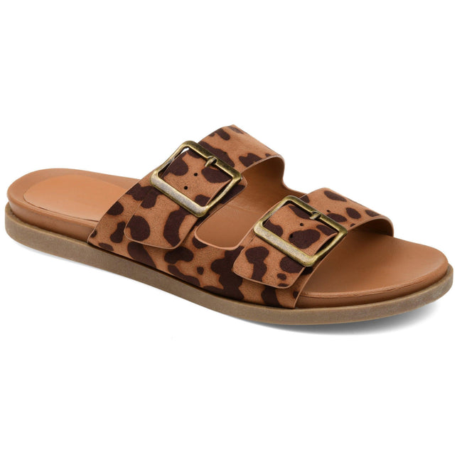 WHITLEY Shoes Journee Collection Leopard 5.5 1