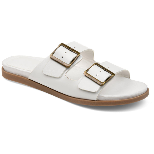 WHITLEY Shoes Journee Collection White 5.5 1