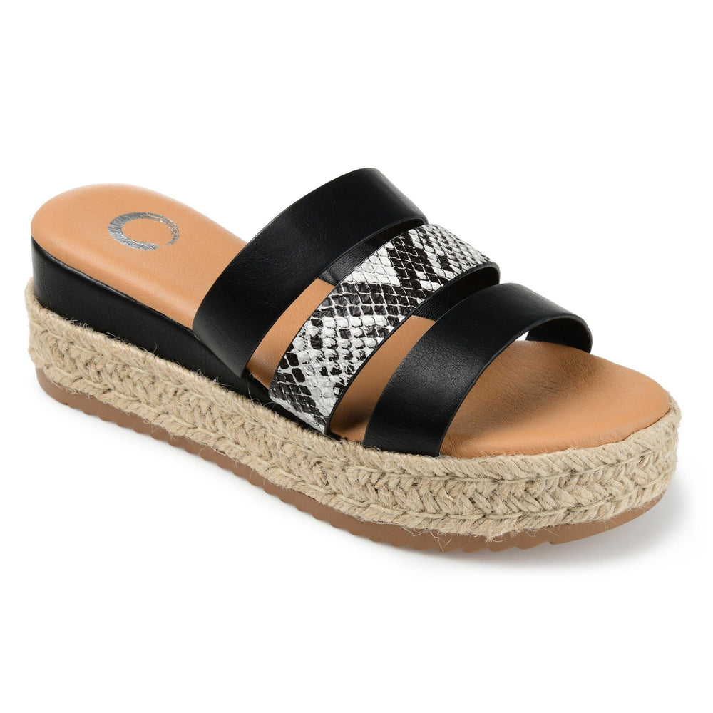 WHITTY SHOES Journee Collection Black 8