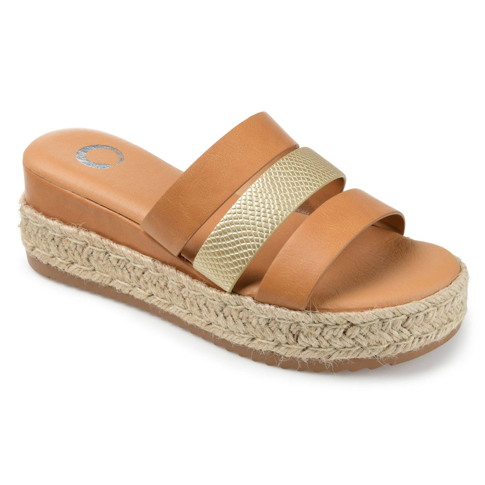 WHITTY SHOES Journee Collection Tan 7.5