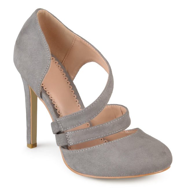 ZEERA Shoes Journee Collection Grey 5.5