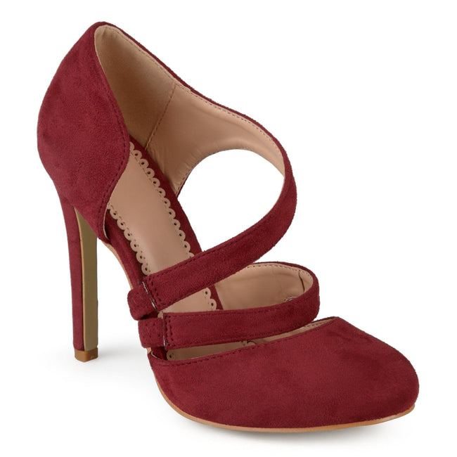 ZEERA Shoes Journee Collection Wine 5.5