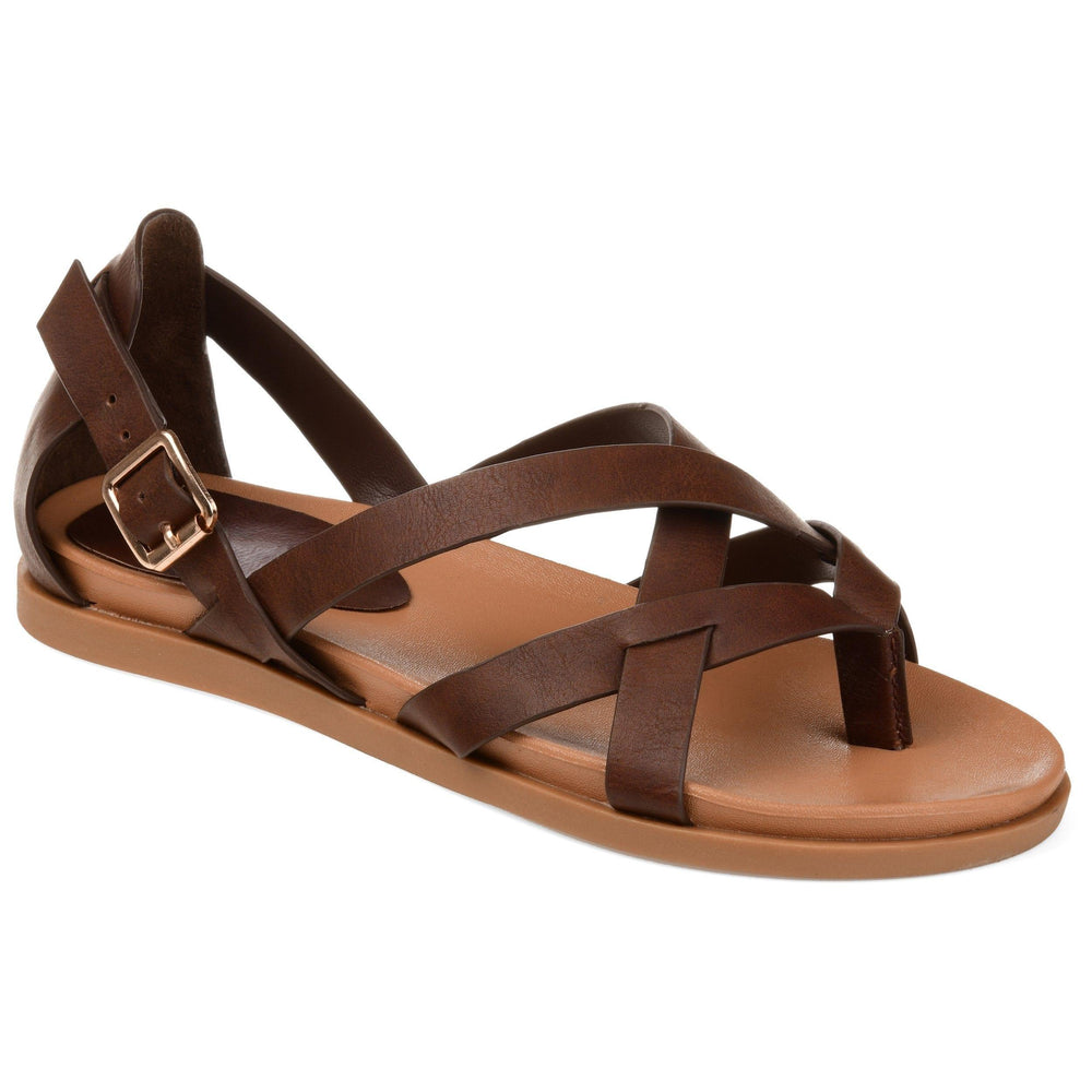 ZIPORAH Shoes Journee Collection Brown 5.5