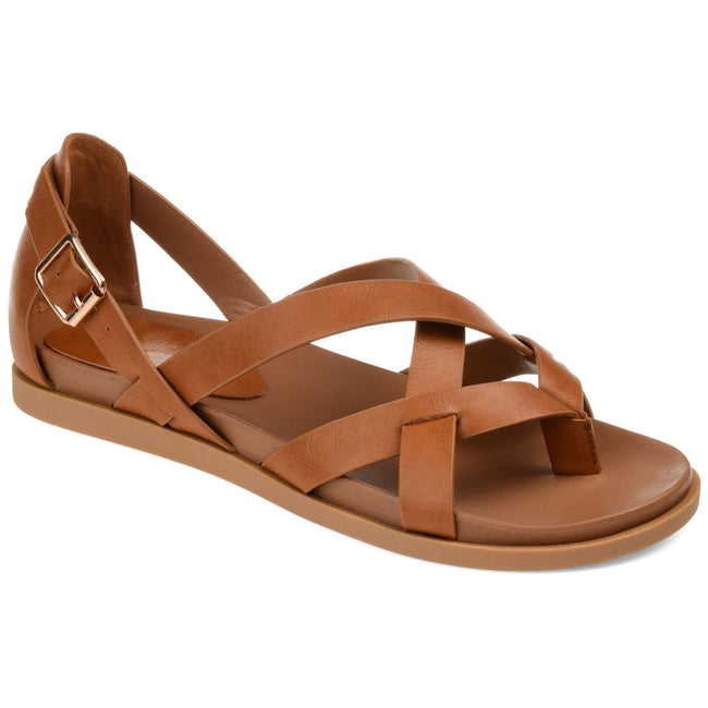 ZIPORAH Shoes Journee Collection Tan 5.5