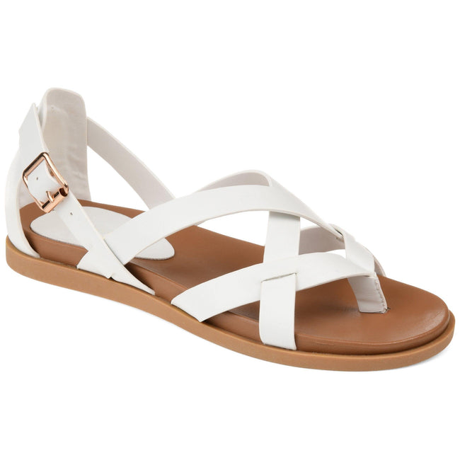 ZIPORAH Shoes Journee Collection White 5.5