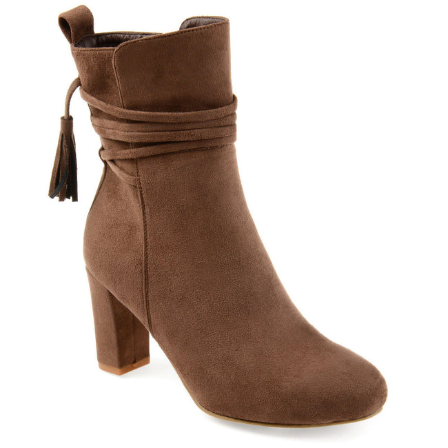 ZURI Shoes Journee Collection Taupe 5.5