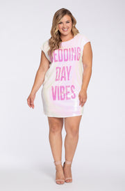 Hayley Paige Athleisure Long T-Shirt - Wedding Day Vibes