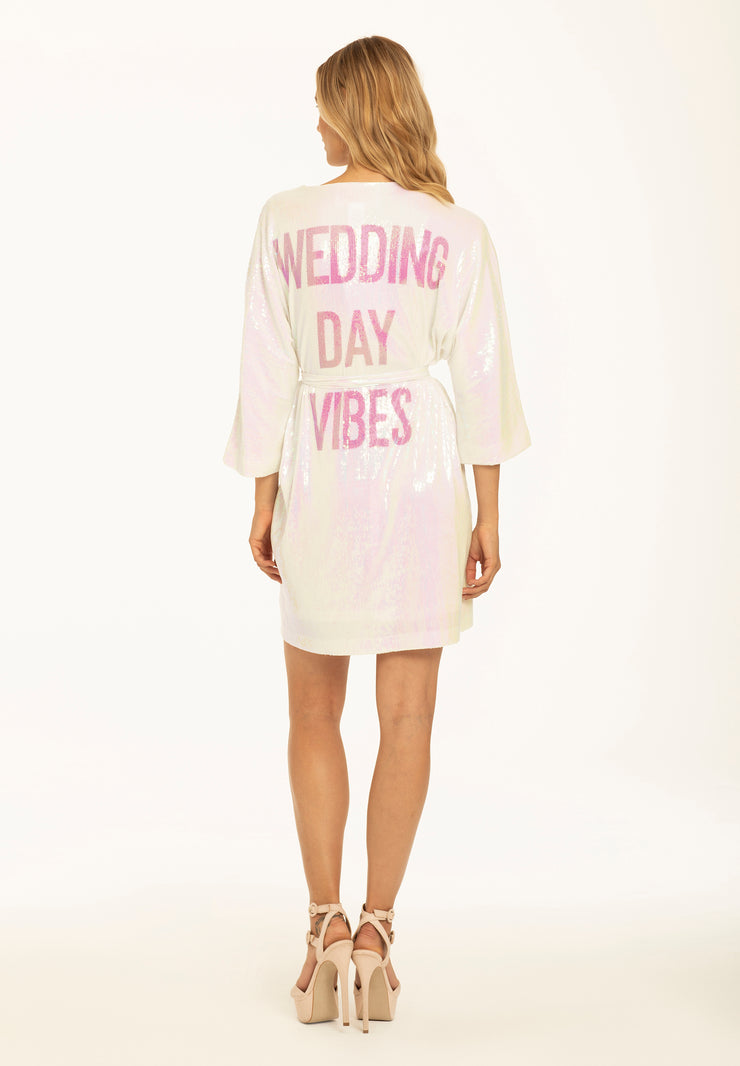 Hayley Paige Athleisure Robe Wedding Day Vibes Jlm Couture