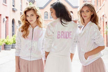 Hayley Paige Athleisure Bomber Jacket - Bride  SIZE SMALL AND MEDIUM  CURRENTLY BACKORDERED UNTIL JUNE 15, 2019