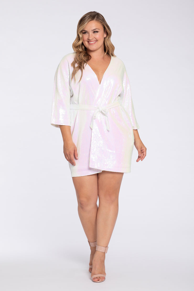 Hayley Paige Athleisure Robe - Wedding Day Vibes