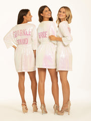 Hayley Paige Athleisure Robe - Sparkle Squad