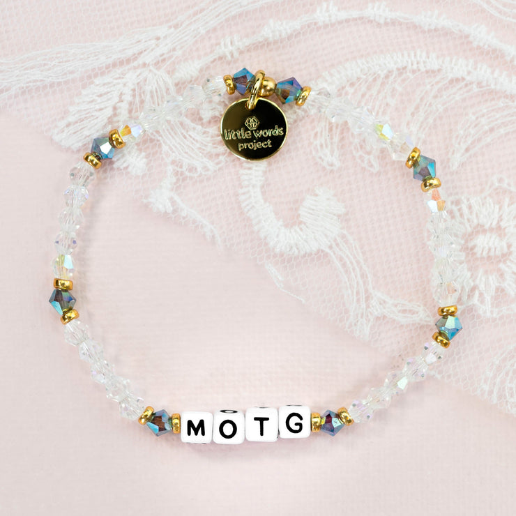 Little Words® Project Mother of the Groom Bracelet