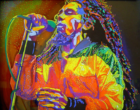 Bob Marley High Gloss Print