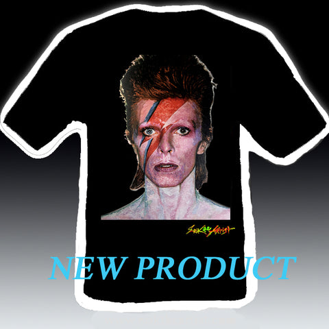 David Bowie Painting T-shirt NEW ITEM