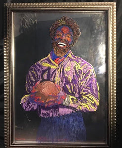 Ed Reed Painting limited edition of #20 hand assembled framed