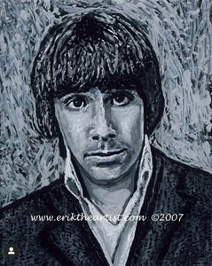 "Keith Moon The Who 16""x20"" Canvas Painting Special"