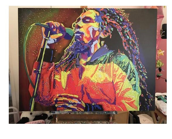 Bob Marley Canvas Painting Special