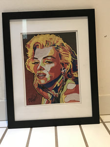 Marilyn Monroe framed shipped as pictured