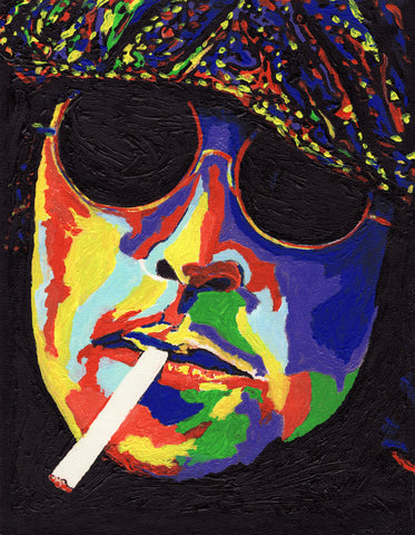 John Lennon Canvas Painting