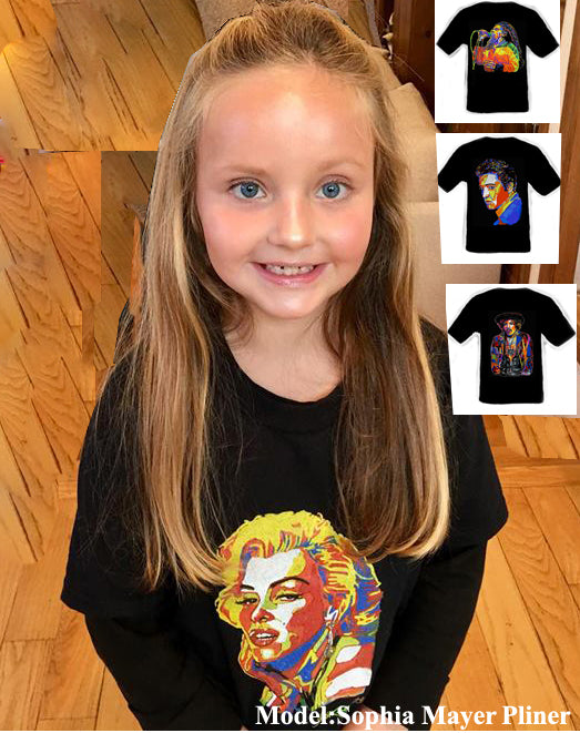 Kids Marilyn Monroe T-Shirt