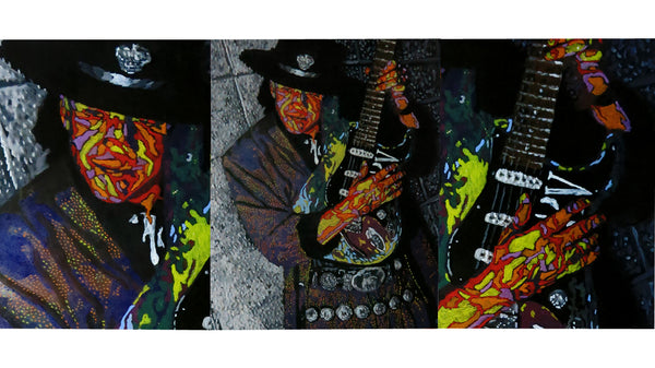 Stevie Ray Vaughan Original Painting