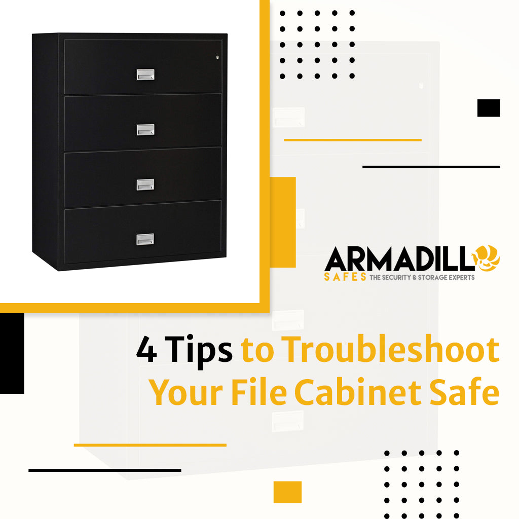 4 Tips to Troubleshoot Your File Cabinet Safe
