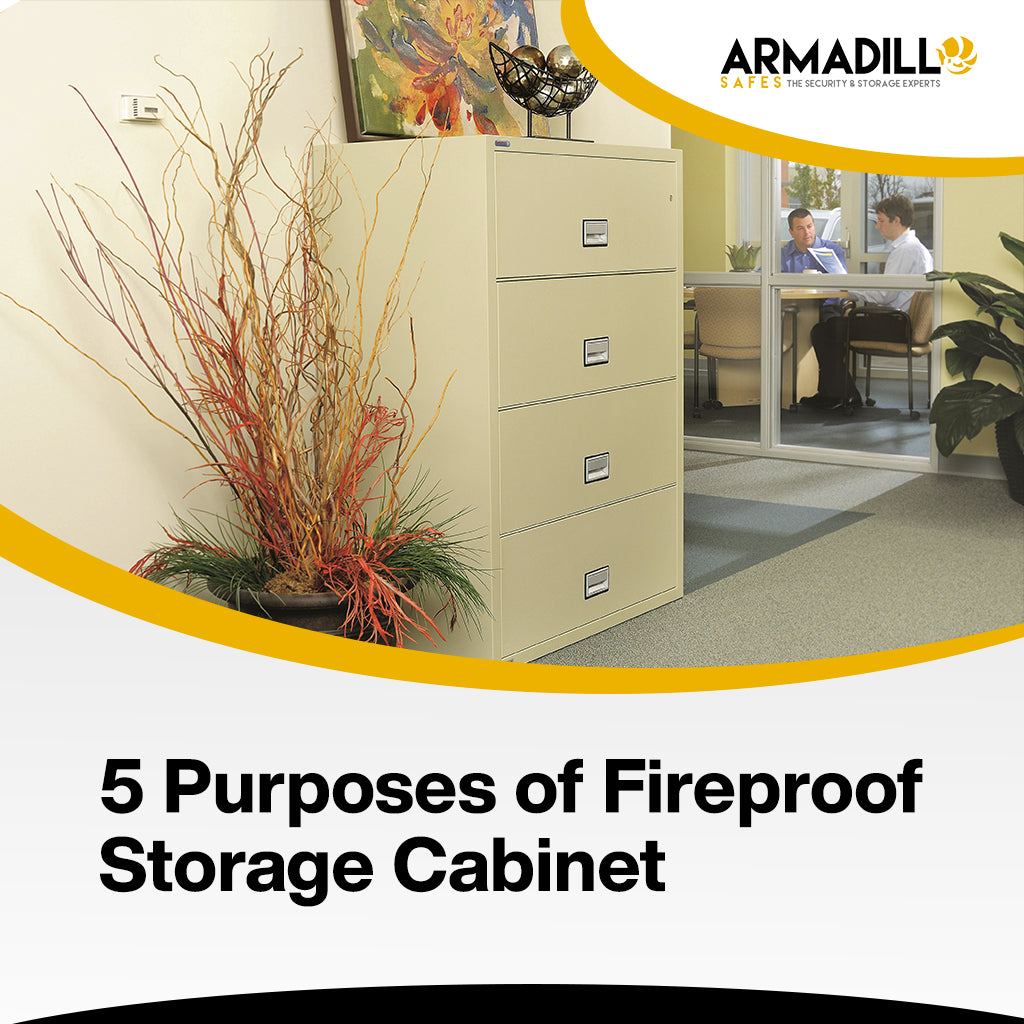 5 Purposes of Fireproof Storage Cabinet