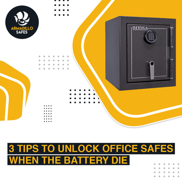 3 Tips to Unlock Office Safes When The Battery Dies