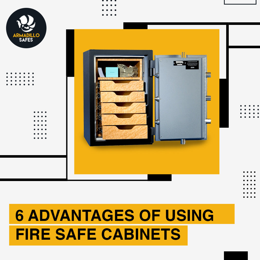 6 Advantages of Using Fire Safe Cabinets